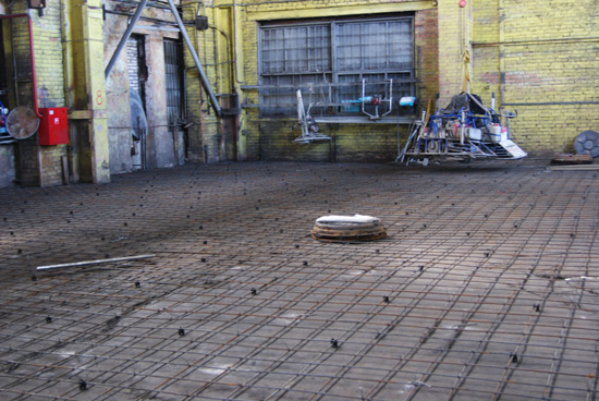 армирование промышленного бетонного пола на ООО «Старлесс-Трейд»
