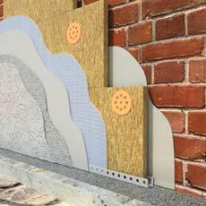 Штукатурный фасад ROCKWOOL