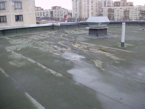 ремонт кровли на ТРК «Крыша»