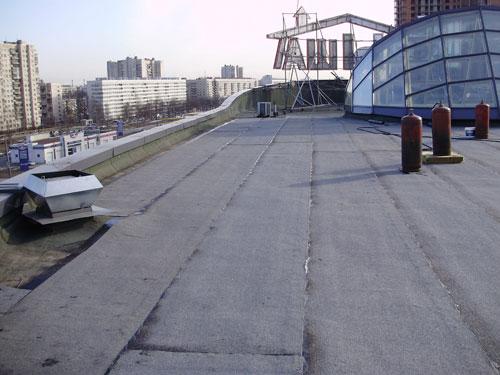 ремонт кровли на ТРК «Крыша»1