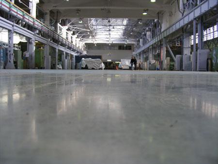 Отделка и устройство полов в ОАО Армалит-1
