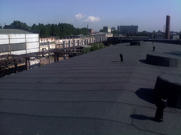 капитальный ремонт кровельного покрытия на ООО ЗДТ «Реком», вид новой крыши