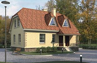 Европейский усадебный дом